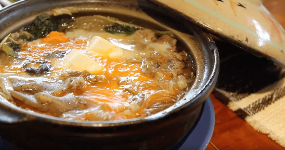 Where to eat in Baguio - Chaya Baguio (sukiyaki)