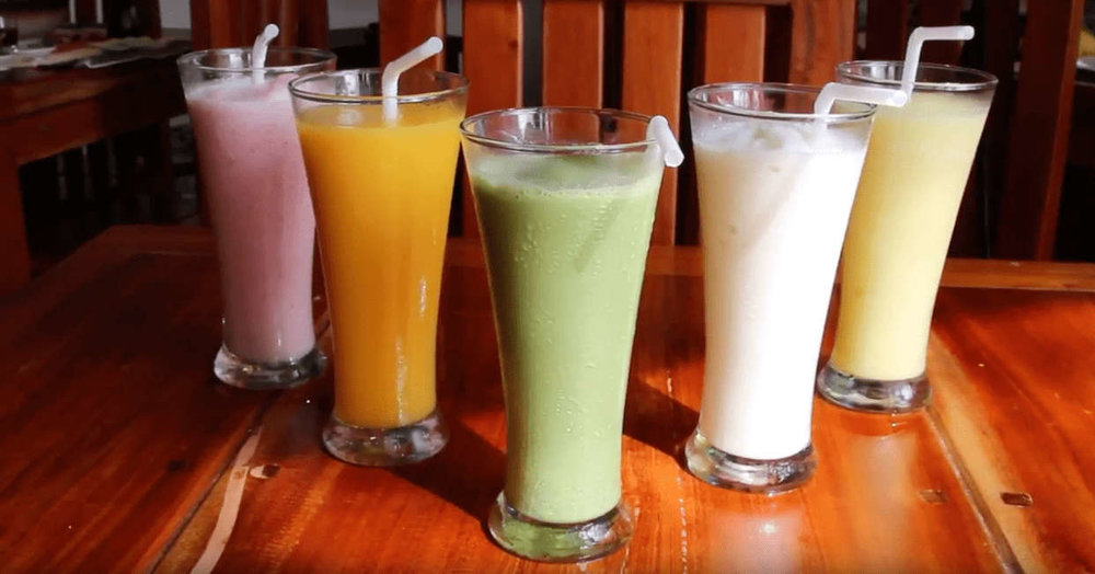 Where to eat in Baguio - Chaya Baguio (drinks)