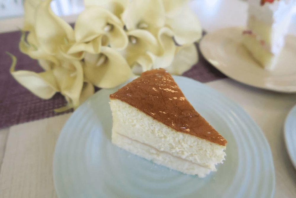 Where to eat in Baguio - Everything Nice (cheesecake)
