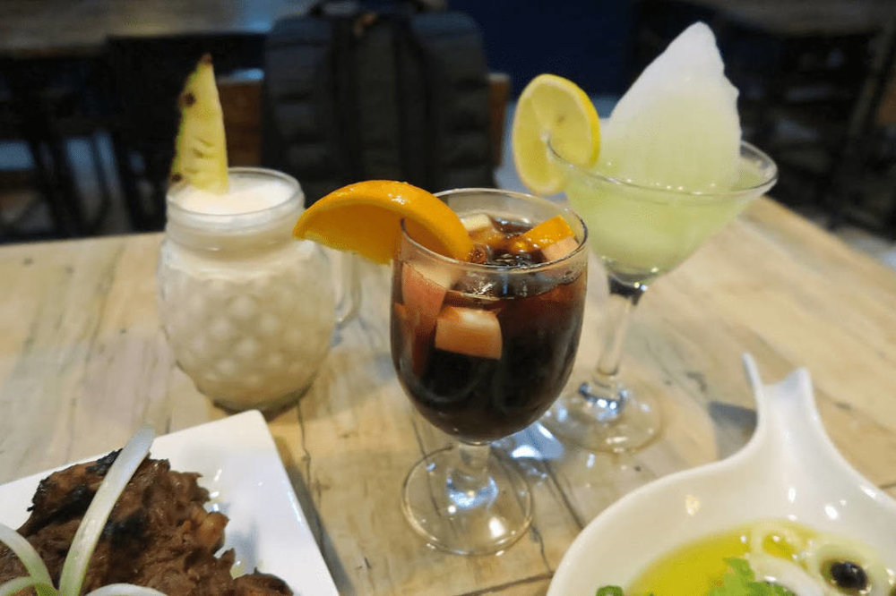 What to eat in La Union - Magellan's (Sangria)