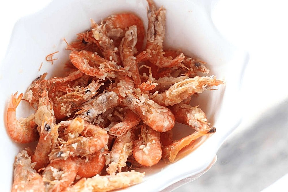 Where to eat in La Union - Natalna Grille La Union - Crispy shrimps