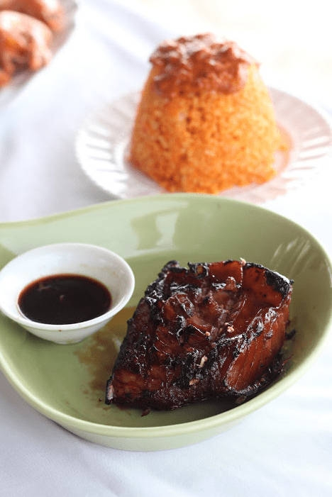Where to eat in La Union - Natalna Grille La Union - Grilled tuna belly