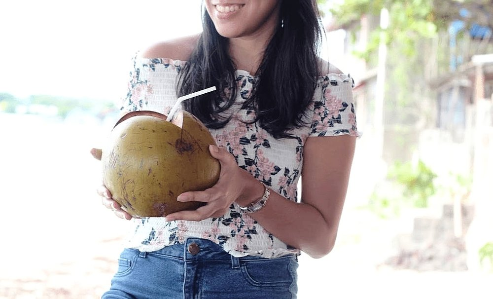 Where to eat in La Union - Natalna Grille La Union - Fresh Buko