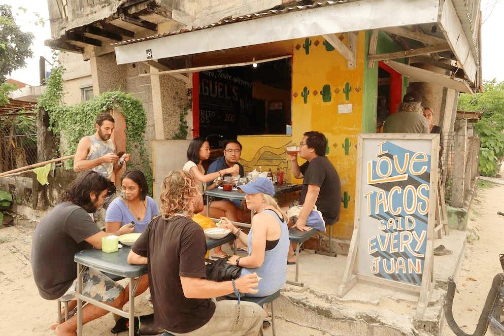Siargao Restaurants - Miguel's Taqueria