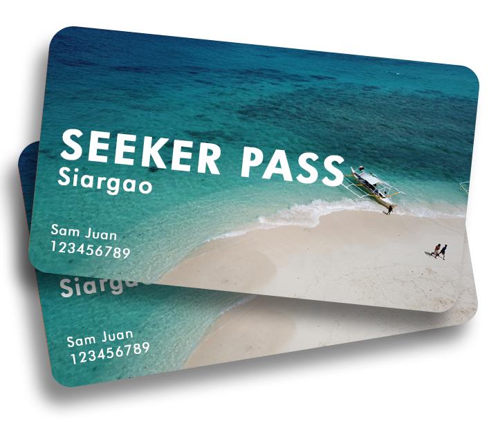 Siargao Seeker Pass Card