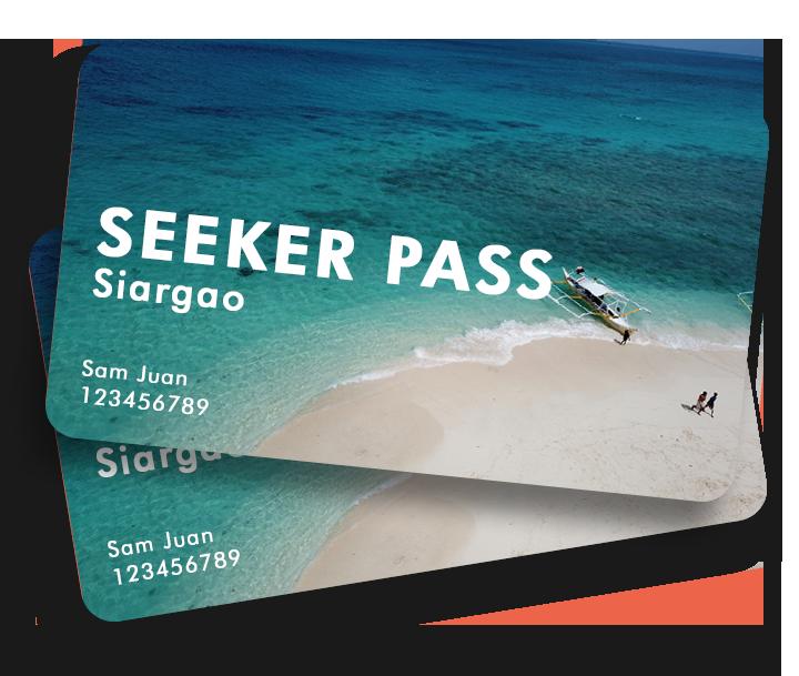 Siargao Seeker Pass Card