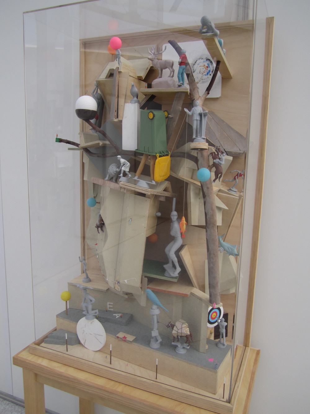 Joondalup Invitation Art Award, 2012   Precipice , 2011 Mixed media 193cm x 83cm x 44cm