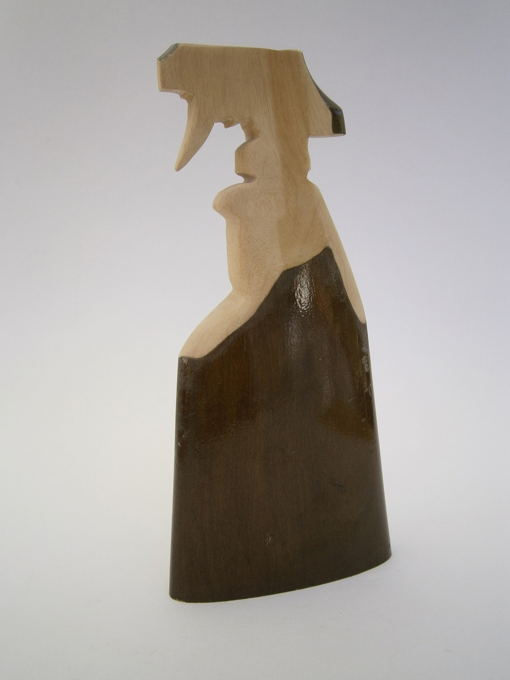 Mould Killer, 2014 Wooden Gun Butt 26 x 12 x 4 cm