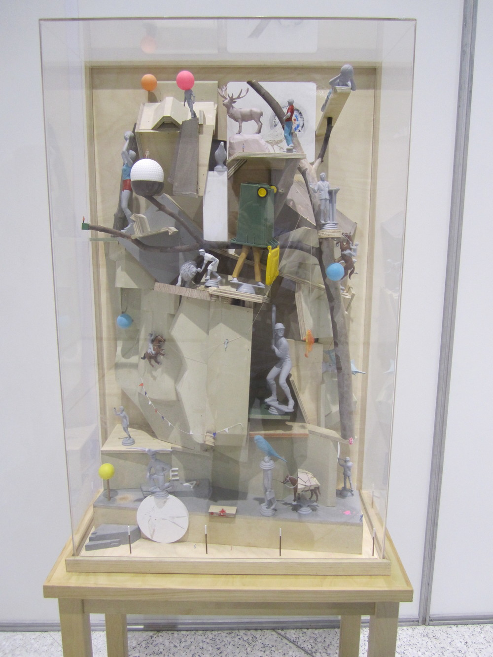 Joondalup Invitation Art Award, 2012   Precipice , 2011 Mixed media 193cm x 83cm x 44cm