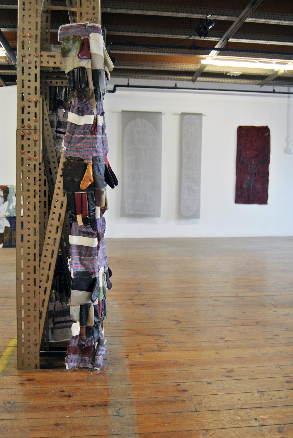 Install Shot Of 'Soft Rocks: New Works By Lydia Brockless & Sophie Giller', Lady Beck, Leeds, June 2016