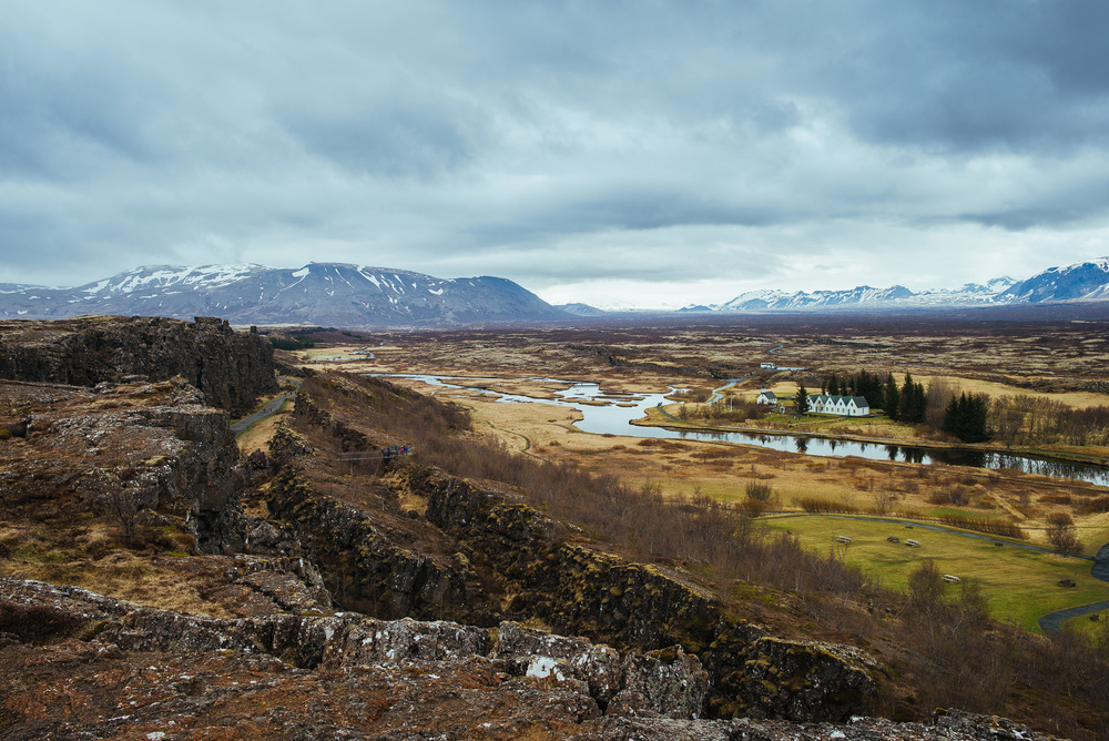 Þingvellir.