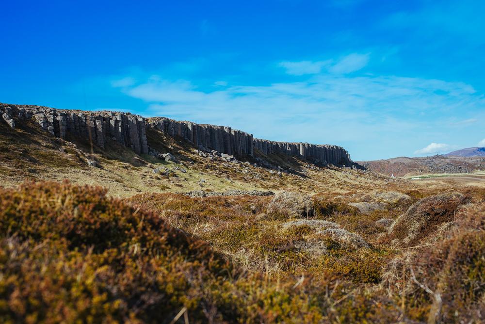 Gerðuberg basalt columns.