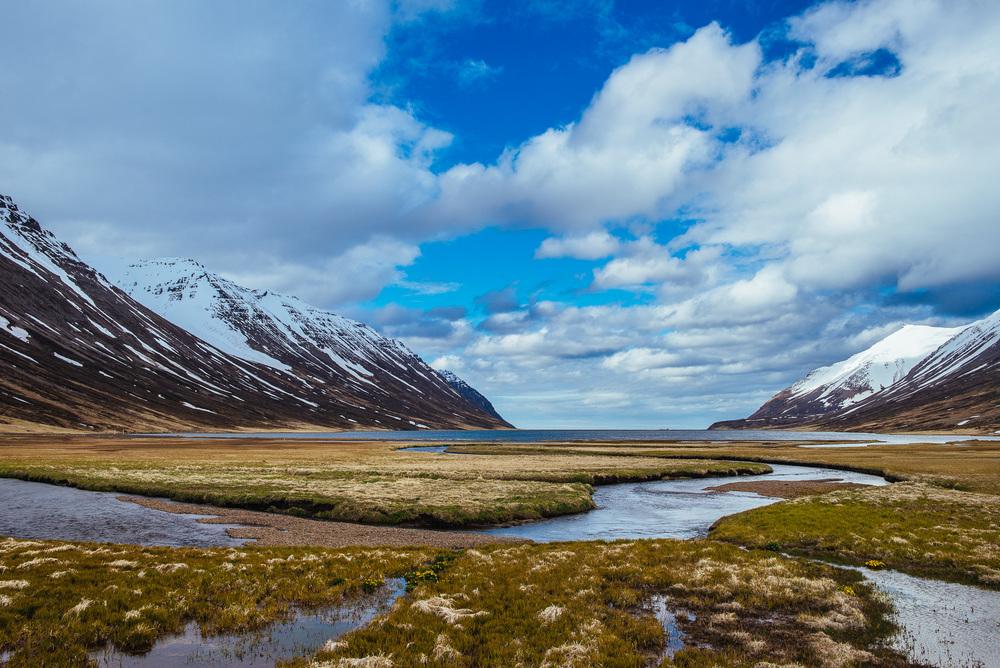 Héðinsfjarðarvatn.