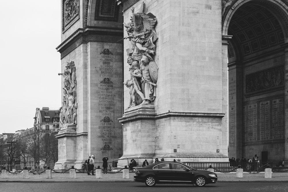 Arc de Triomphede l'Étoile - Paris