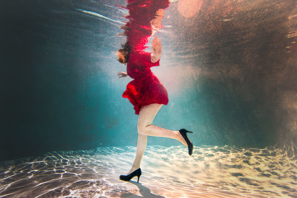 Fashion Underwater Photoshoot