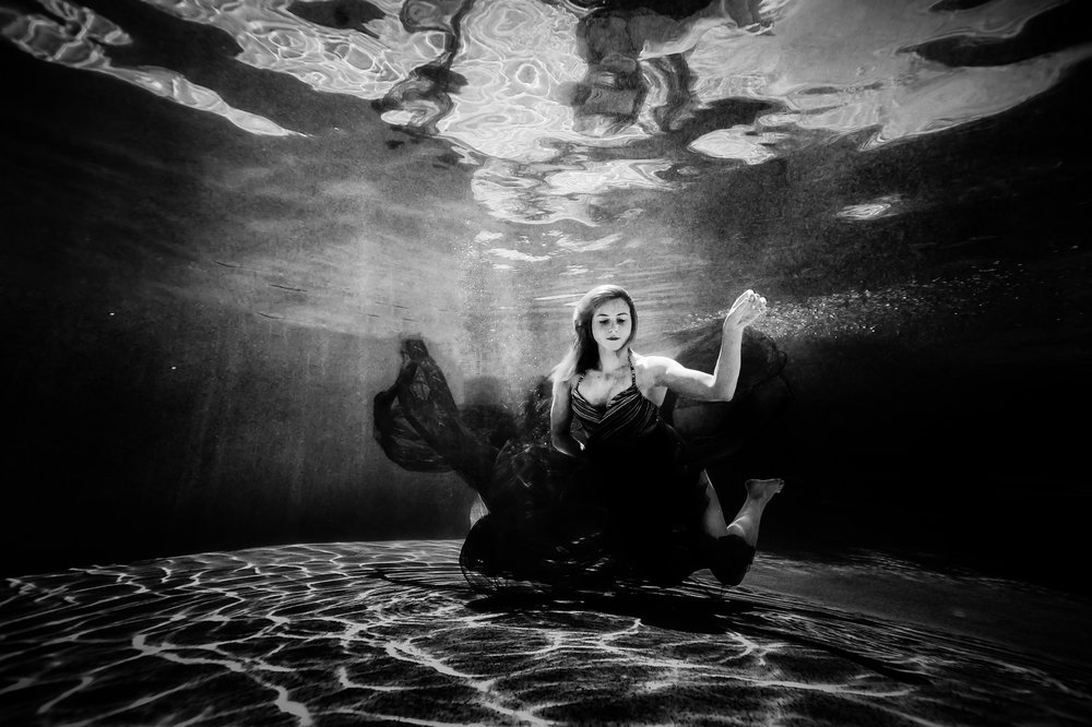 Carley Carpenter - Underwater