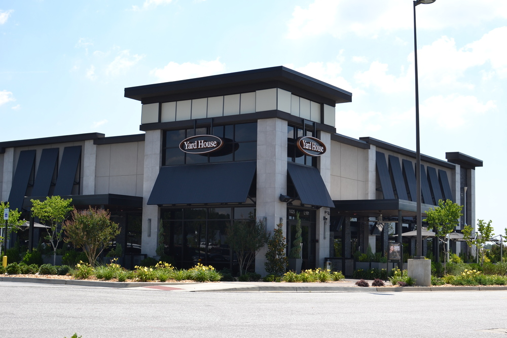 The Yard House -- Greenville, SC