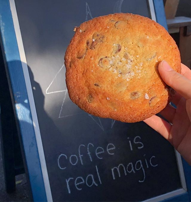 Coffee is real magic but what about coffee and cookies?