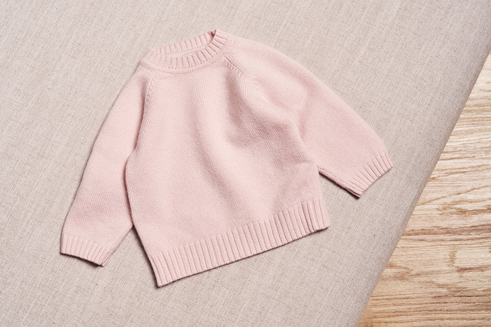the neel cashmere sweater