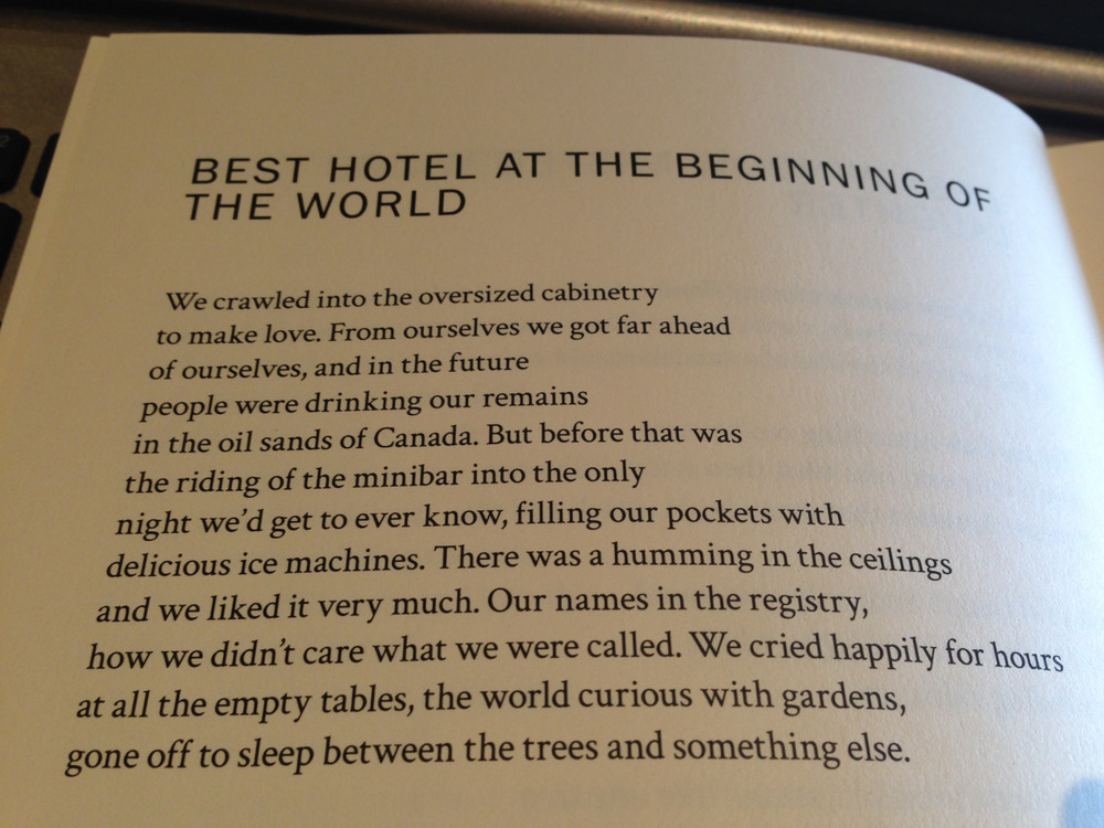markcugini :      ratrapss :      from  Mike Krutel's BEST POEMS  ( Big Lucks Books 2013 )     Oh yeah, this poem is insane.     oh boy