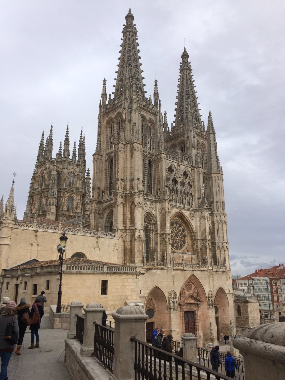 The Cathedral of Burgos in all its Gothic glory.