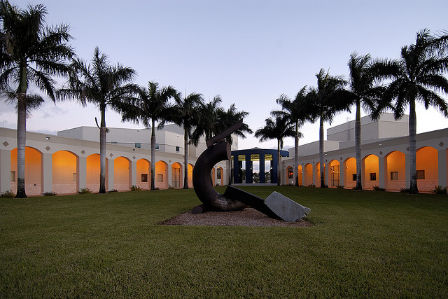 The Herbert and Nicole Wertheim Performing Arts Center Concert Hall. Photo courtesy of Florida International University.