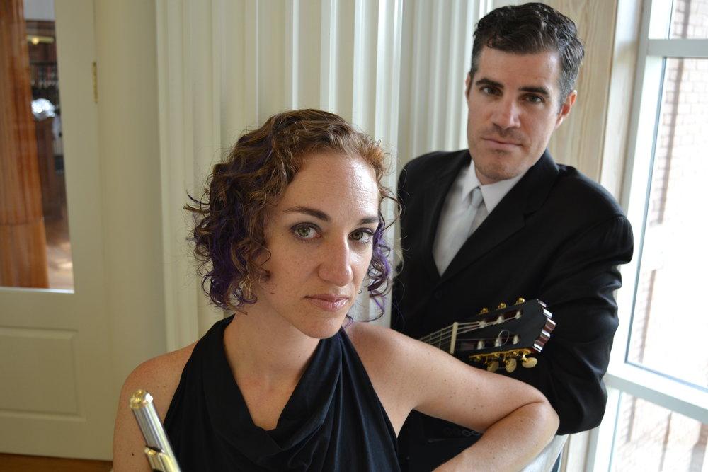 Duo Cintemani (Rachel Taratoot Ciraldo, flute; Nicholas Ciraldo, guitar)