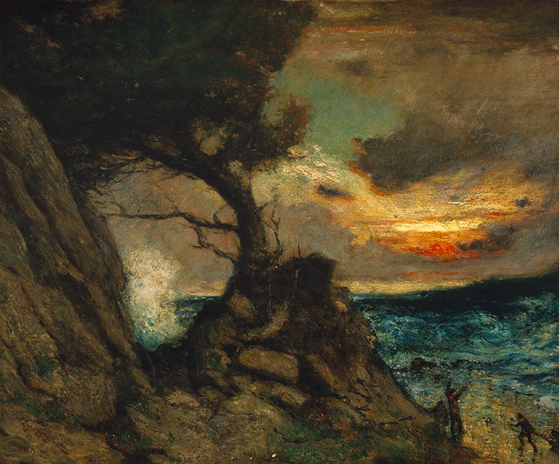 Elliott Daingerfield;  The Lone Cypress ; Circa 1914; Oil on canvas; Morris Museum of Art, Augusta, Georgia. Gift of the Robert Powell Coggins Art Trust.
