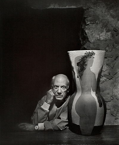 Yousuf Karsh (Canadian, 1908–2002), Pablo Picasso, 1954 (printed 1983), gelatin silver print, ed. 69/100, Gift of William Richard and Judith Ann Smith, LSUMOA 2005.4.1.12