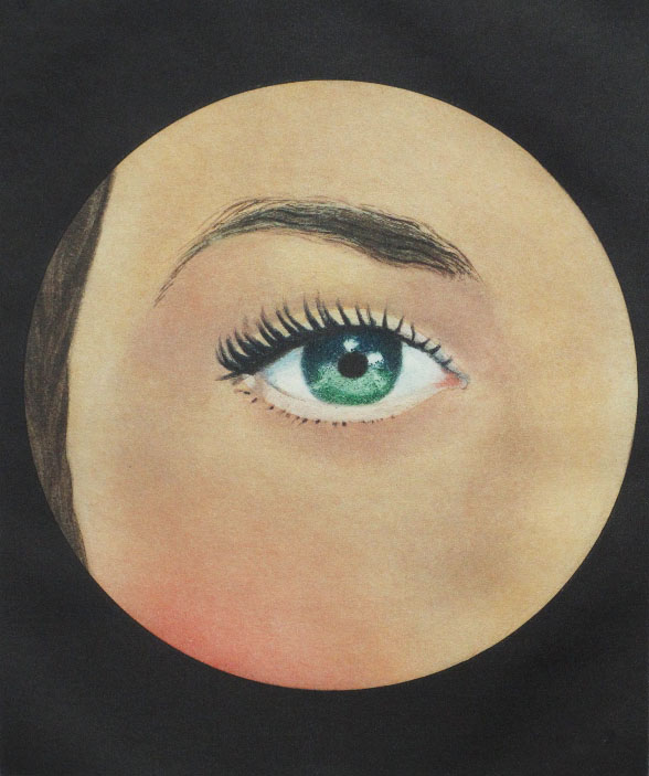 René Magritte (Belgian, 1898–1967),  L'oeil  (The eye), from Le Lien de Paille (The Straw Link), 1969, engraving, From the Collection of Georges Visat