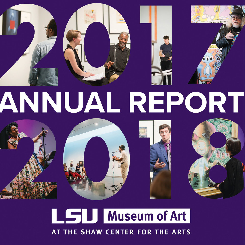Cover page featuring images from 2017-2018