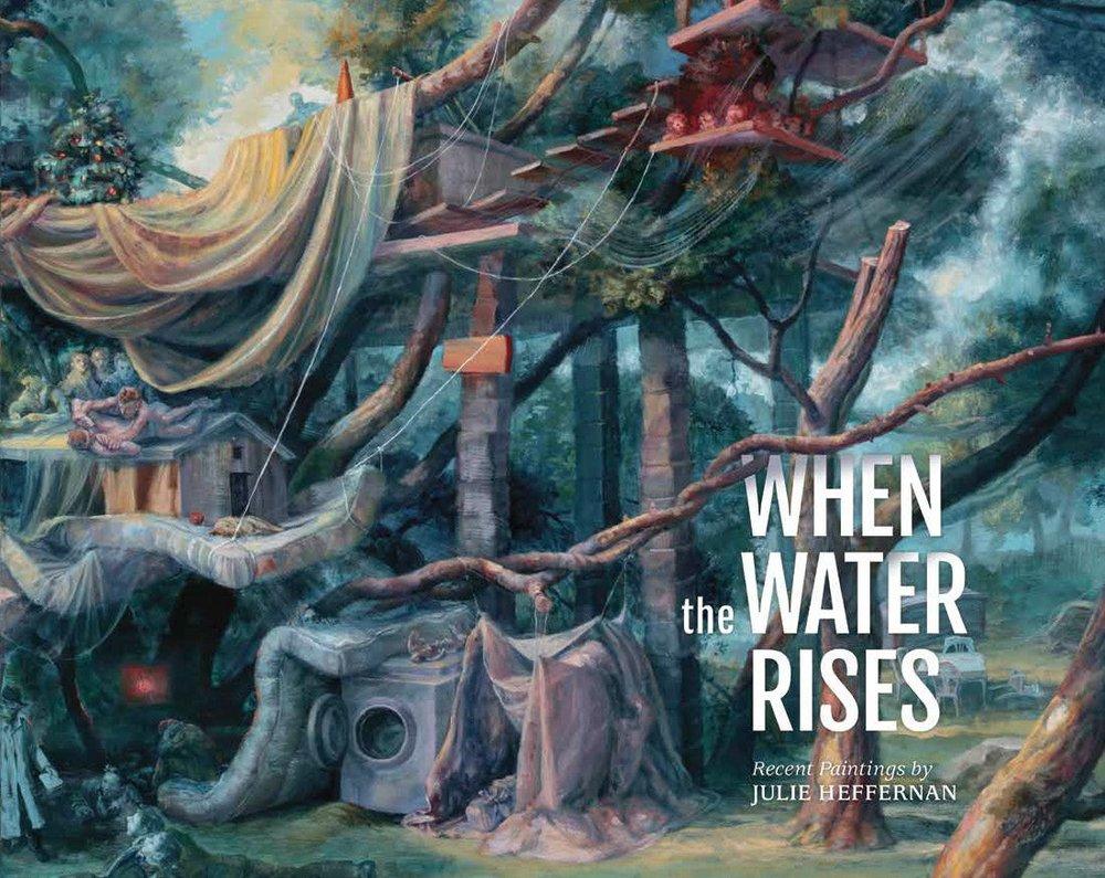 Book cover of a Julie Heffernan painting