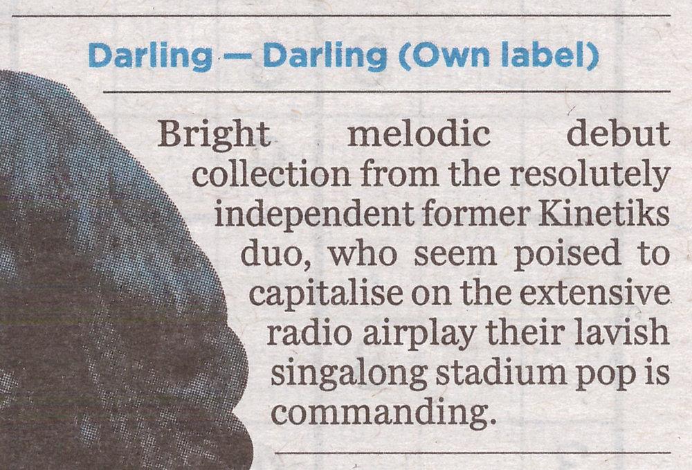 DARLING_ALBUM REVIEW_EVENING HERALD_MARCH2017.jpeg