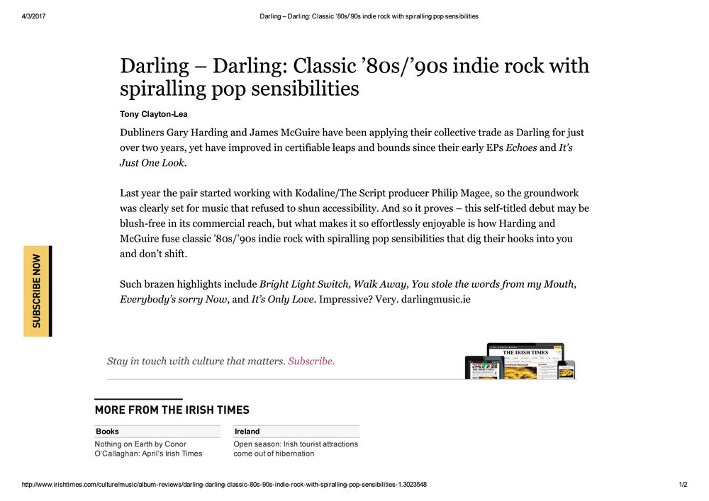 DARLING_ALBUM REVIEW_IRISH TIMES_MARCH2017 copy.jpg