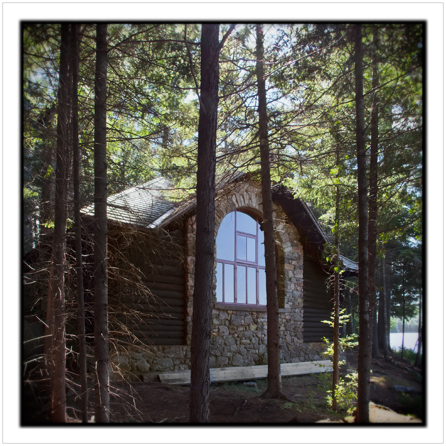 artist studio / north light window   ~ Santanoni Great Camp / Newcomb, NY - in the Adirondack PARK