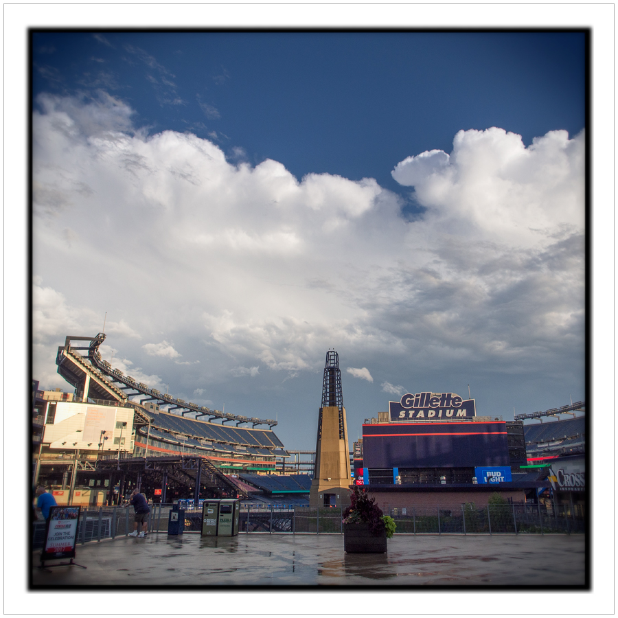Gillette Stadium clouds   ~ Foxboro, MA.
