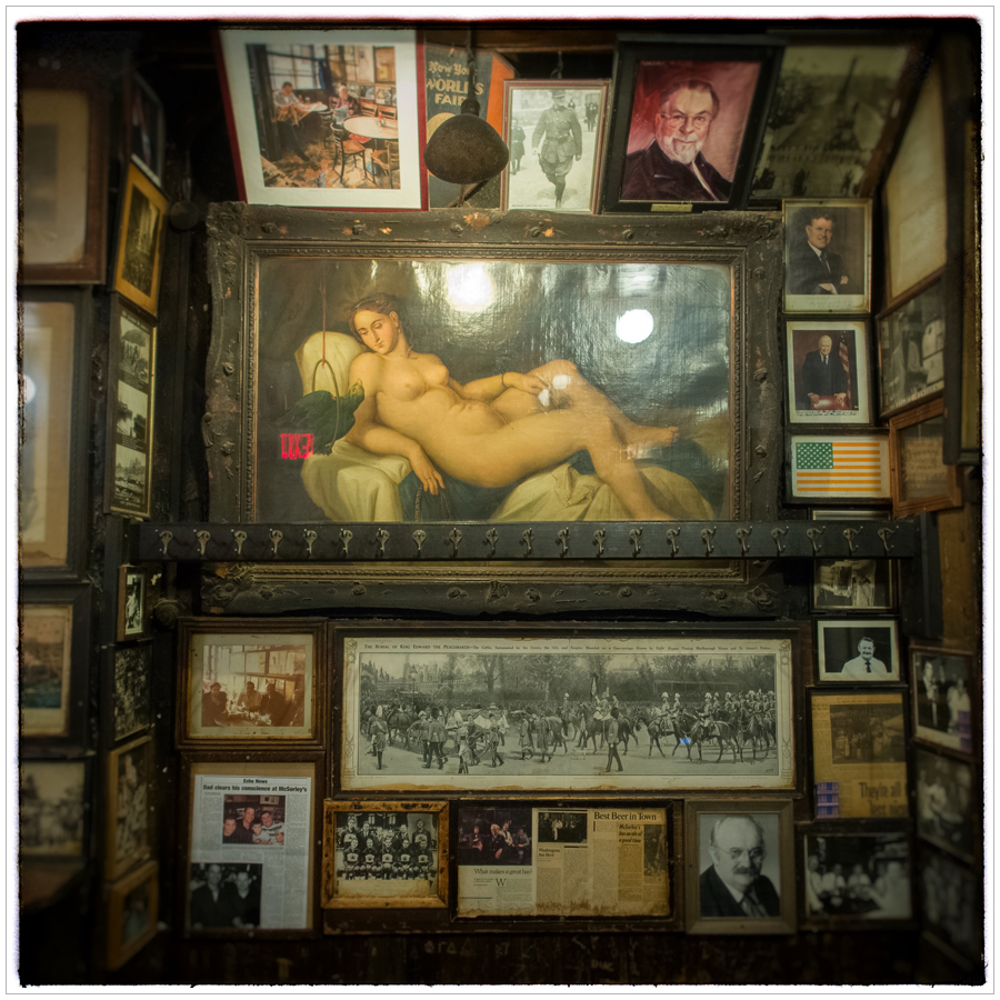 McSorley's Old Ale House interior ~ Manhattan / NYC, NY (click to embiggen)