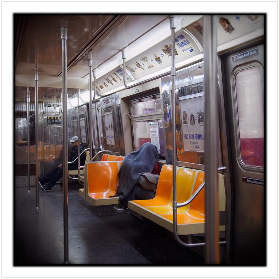 subway riders ~ Manhattan / NYC. NY (click to embiggen)