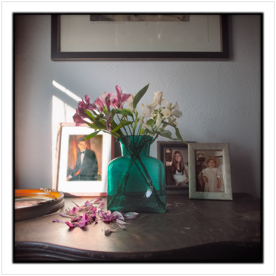 flowers, vase, portraits   ~ Au Sable Forks, NY - in the Adirondack PARK (click to embiggen)