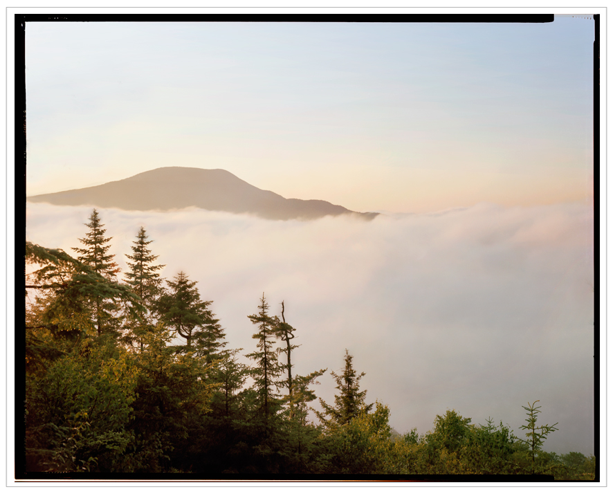 Blue Mountain sunrise fog ~ from Castle Rock / Blue Mountain Lake, NY - in the Adirondack PARK (click to embiggen)