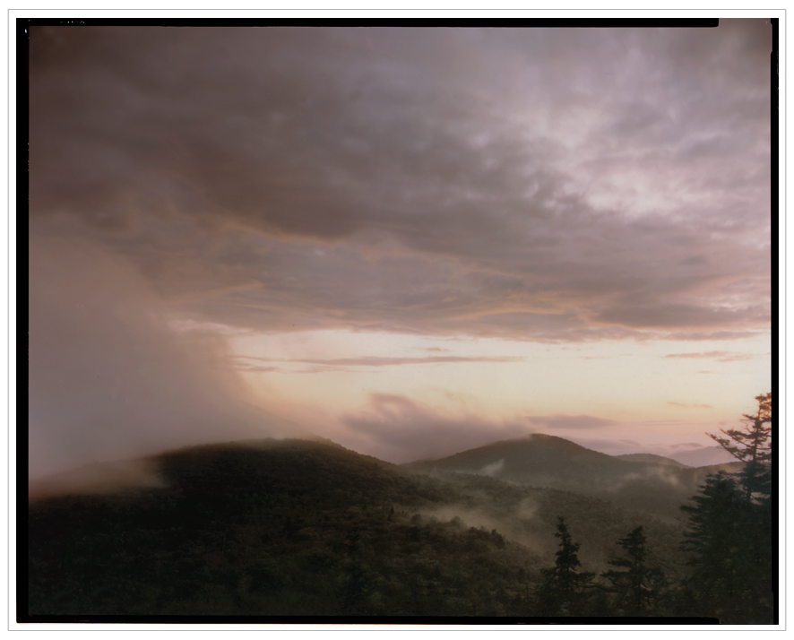 sunset fog rolling in ~ from Castle Rock / Blue Mountain Lake, NY - in the Adirondack PARK (click to embiggen)