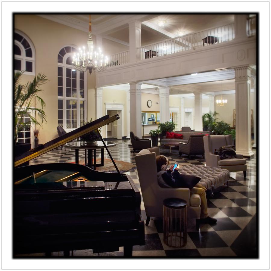 Hugo / lobby, Queensbury Hotel ~ Glens Falls, NY (click to embiggen)
