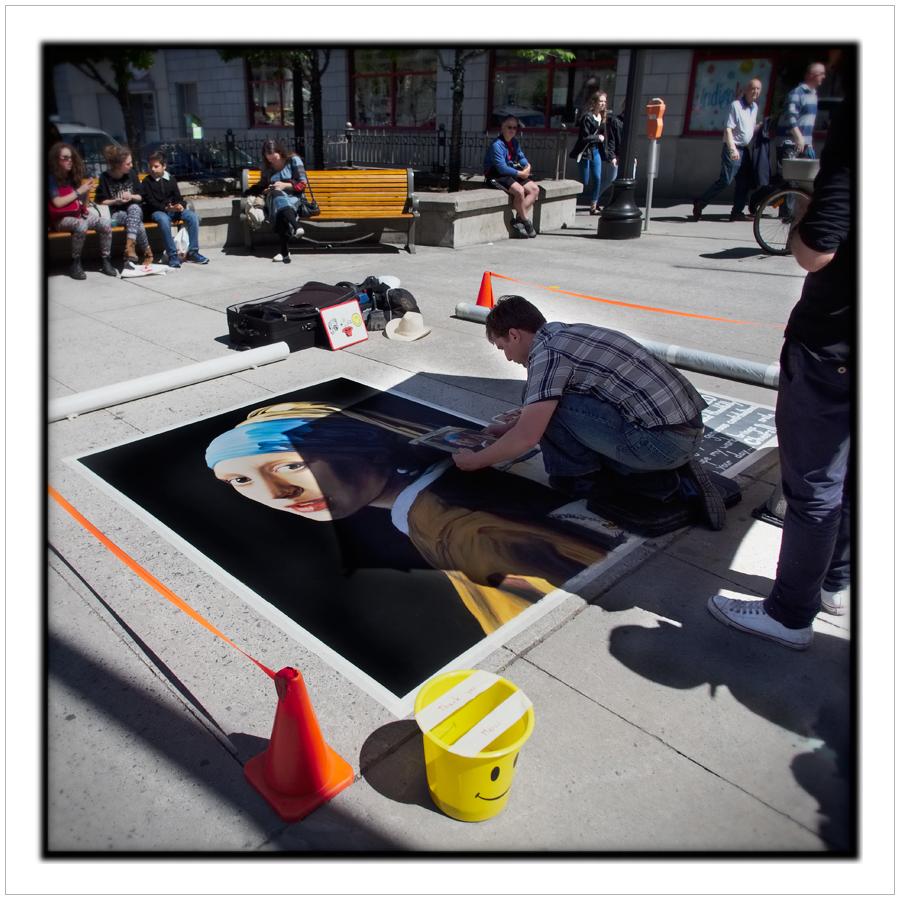 sidewalk artist   /   Byward Market   ~ Ottawa, ONT. CA (embiggenable)