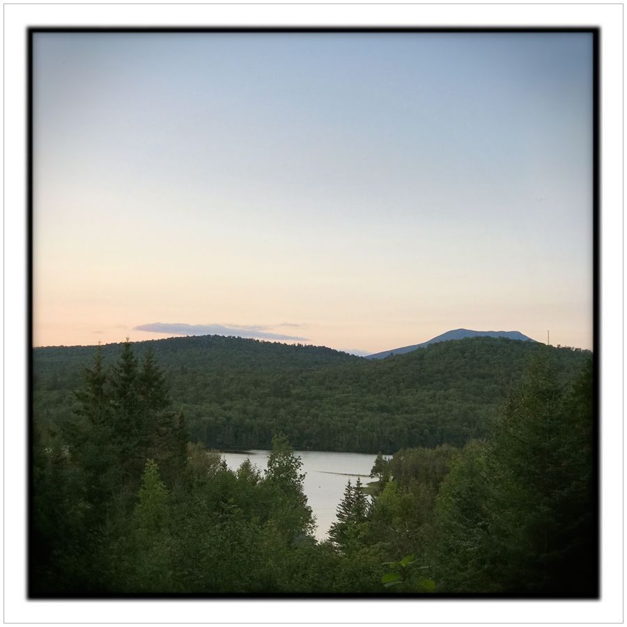 sundown   /   Rist Camp   ~ Newcomb,NY • in the Adirondack PARK (embiggenable)