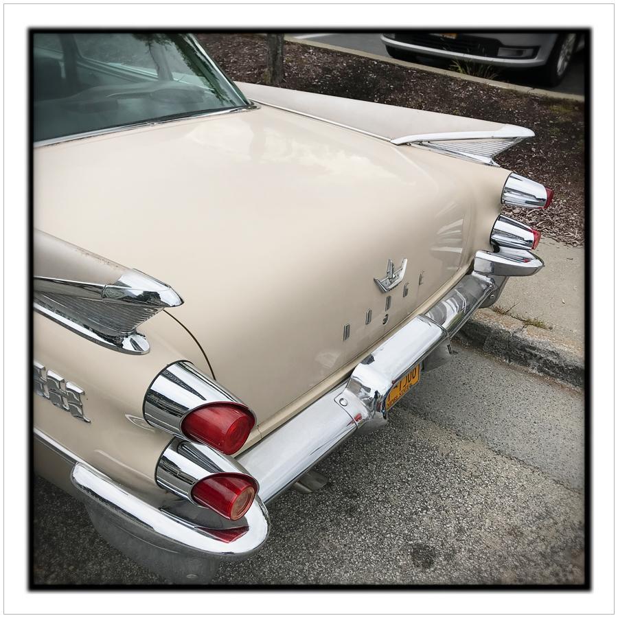 1950s era Dodge ~ North Creek, NY - in the Adirondack PARK (embiggenable)