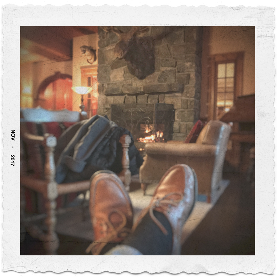 relaxed   /   Mirror Lake Inn   ~ Lake Placid, NY (embiggenable) • iPhone