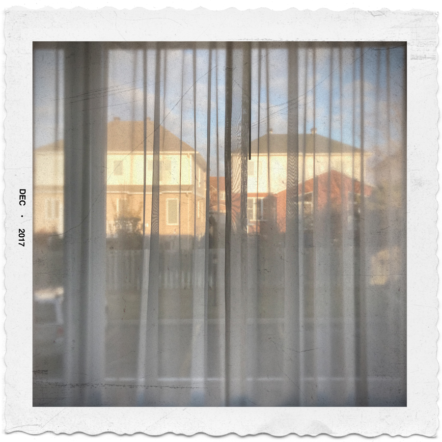 view through hotel curtains ~ Ottawa, CA (embiggenable) • iPhone