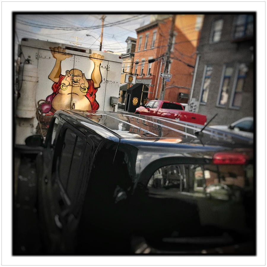 truck art   ~ Southside / Pittsburgh, PA (embiggenable) • iPhone