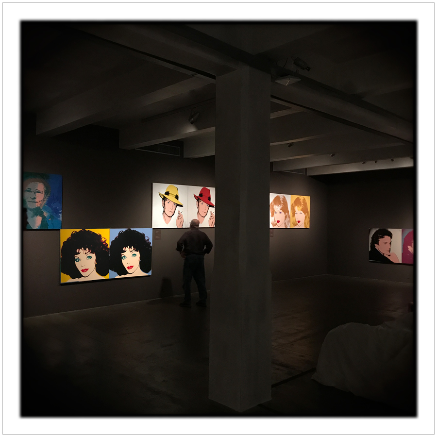 a Warhol Museum gallery   ~ Pittsburgh, PA (embiggenable) • iPhone