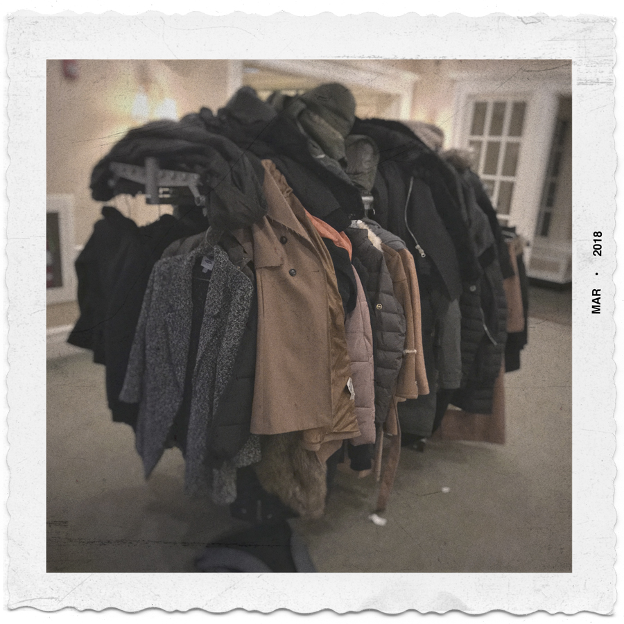 pile o' coats   ~ Binghamton, NY (embiggenable) • iPhone